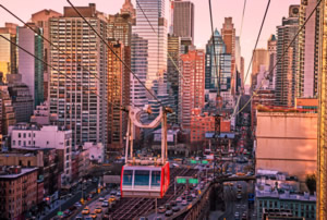 Roosevelt island aerial tramway
